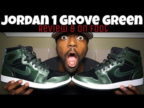 JORDAN 1 GROVE GREEN ANTI GRAVITY MACHINES REVIEW & ON FOOT
