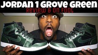 faa2cc56e87 JORDAN 1 GROVE GREEN ANTI GRAVITY MACHINES REVIEW   ON FOOT