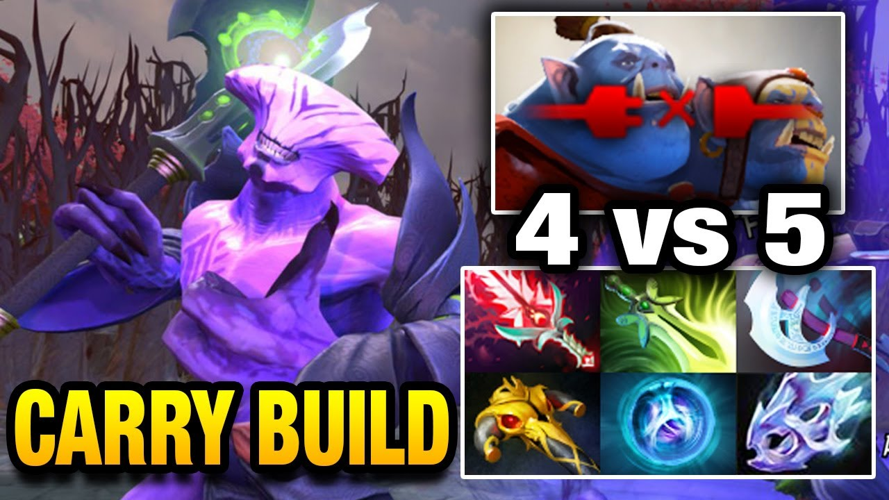 Faceless Void Full Damage Carry Items Build By Fn Dota