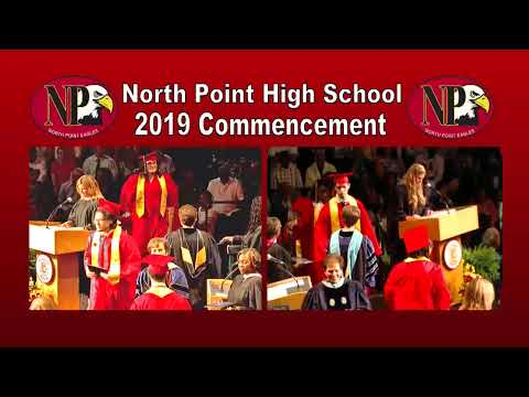 North Point High School 2019 Commencement