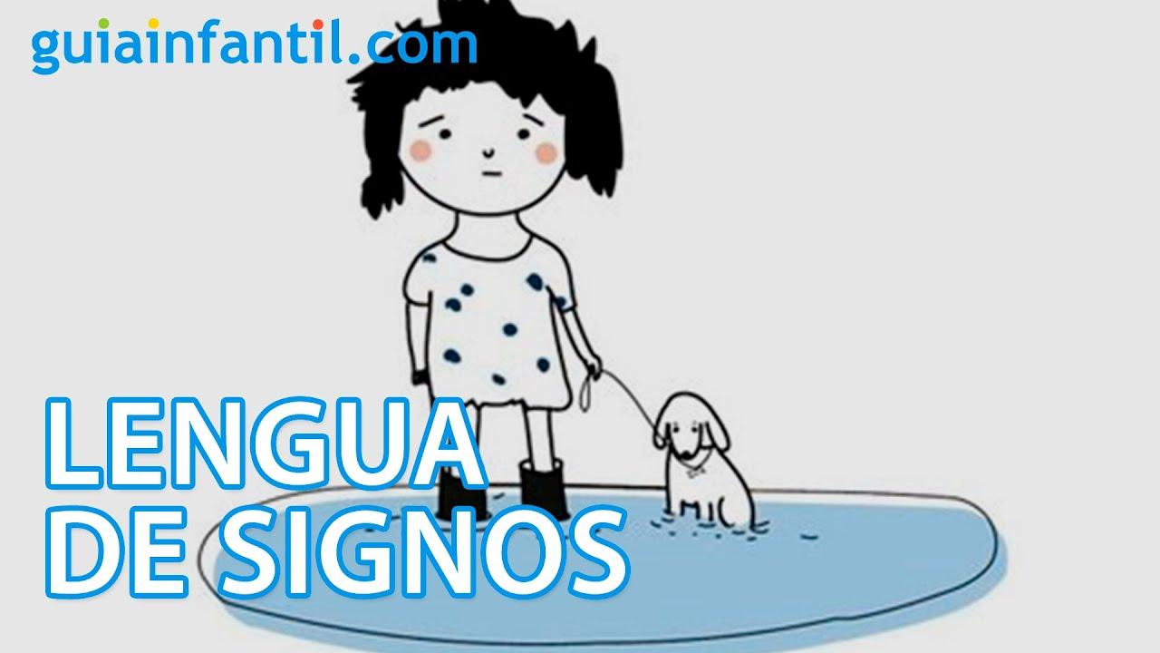 Lengua de signos. Aprende vocabulario sobre la primavera y el otoño