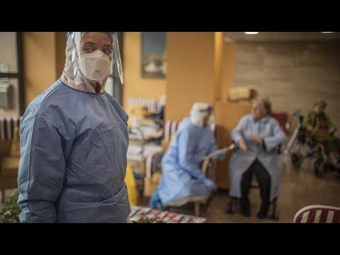 En Espagne, la tendance de l'épidémie de Covid-19 est légèrement en baisse