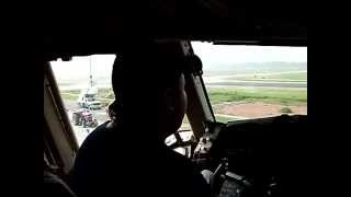 B767 Taxi at ZIA INT airport DHAKA BD  GMG AIRLINES