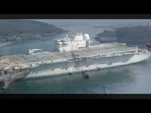 Spain Navy R11 Prince of Asturias aircraft carrier 西班牙海軍 ... Spanish Aircraft Carrier Prince Of Asturias