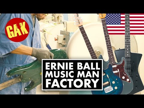 Ernie Ball Music Man Factory, USA