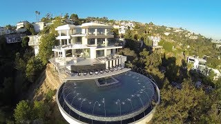 25 Million Dollar Home - 9380 Sierra Mar OUR FIRST REAL ESTATE VIDEO