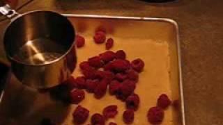 Raspberry Yogurt Kuchen