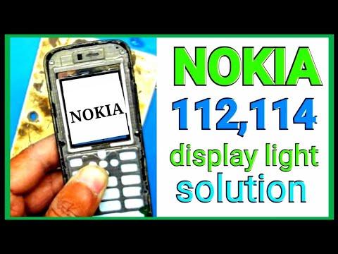 Nokia 112 ,114 rm 827 display LCD light solution