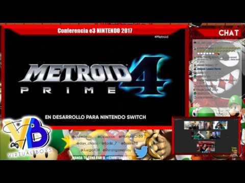 Metroid Prime 4 Reacción en directo Anuncio E3 | Nintendo Spotlight 2017