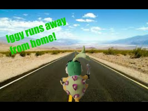 Iggy runs away from home SMR long