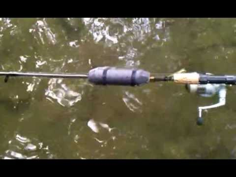 Blakemore fishing rod floatation device review youtube for Fishing pole floats