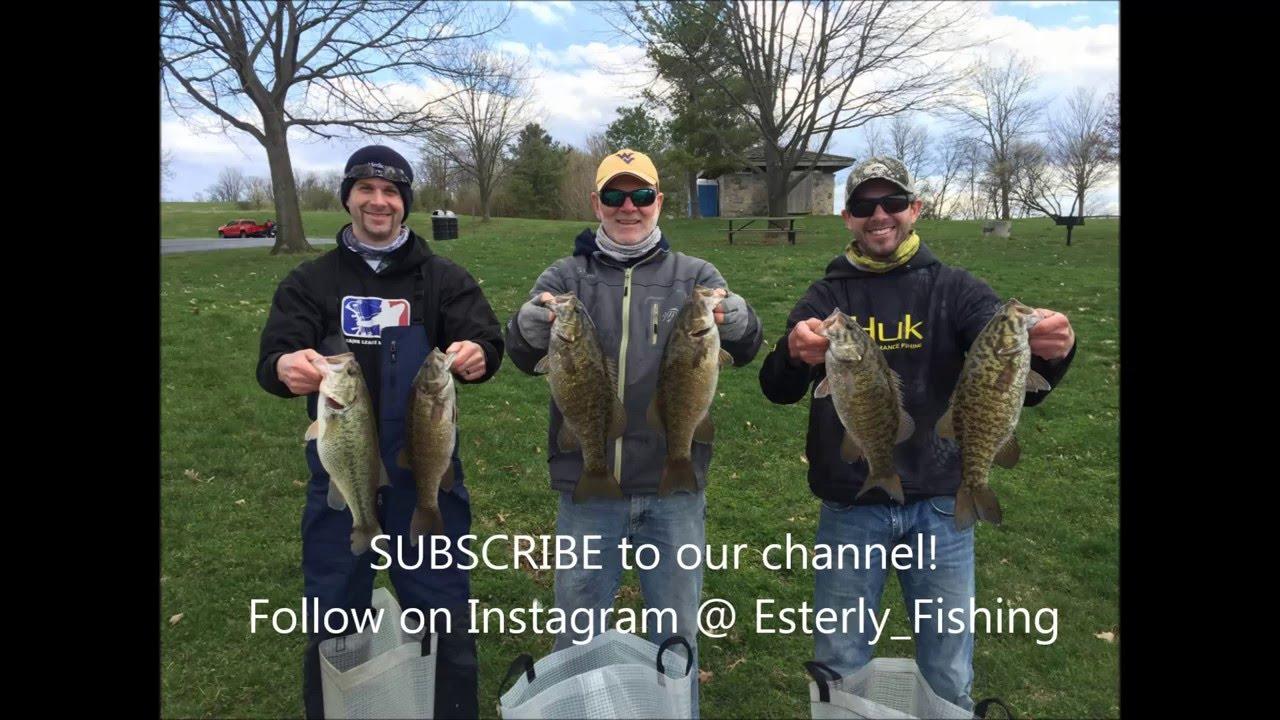 Esterly fishing team channel intro blue marsh youtube for Blue marsh lake fishing