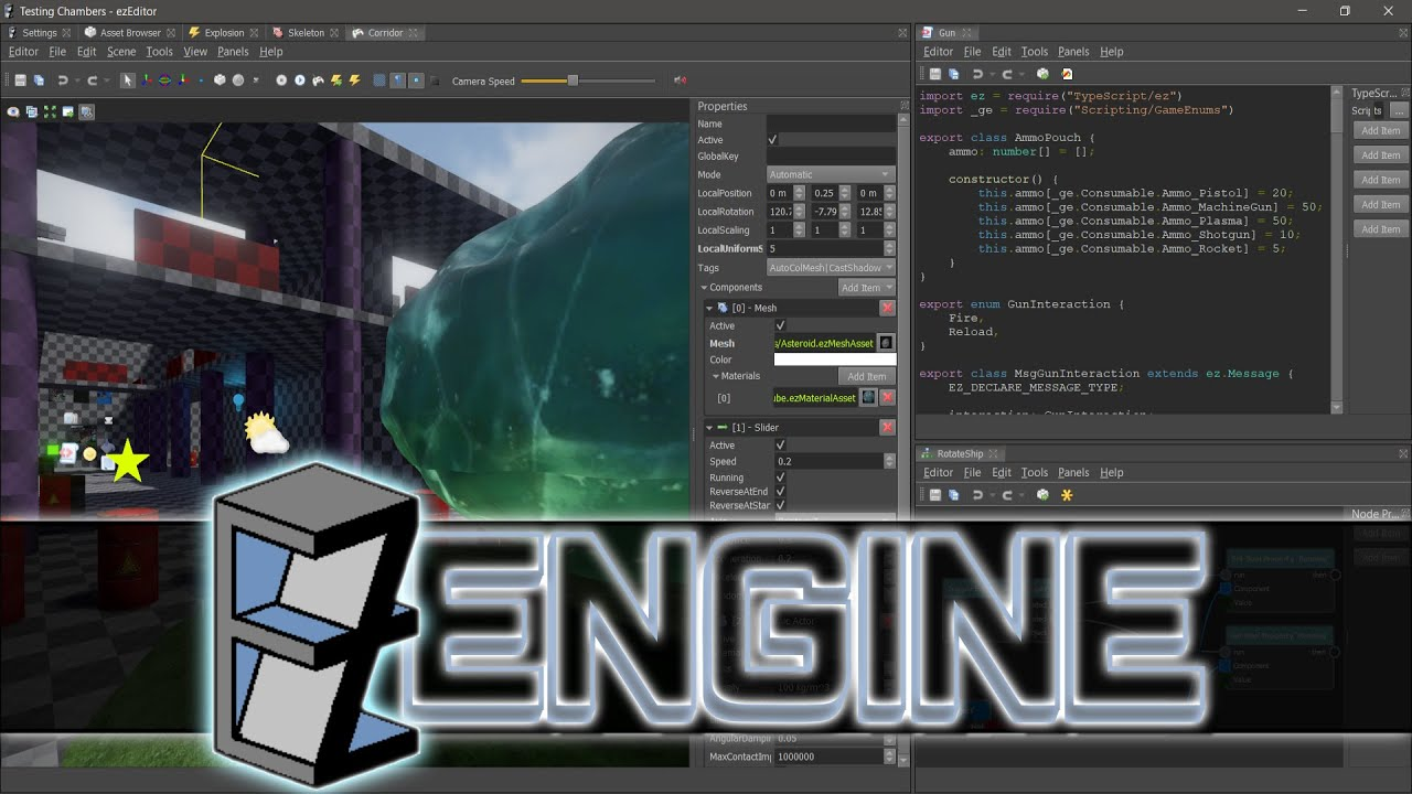 free open source 3d game engine