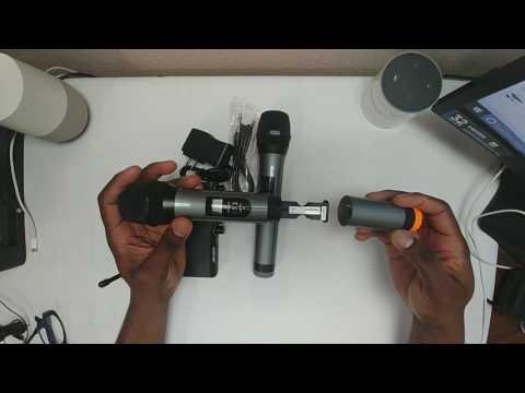 Archeer VHF Bluetooth Microphone System