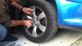 Comment démonter une roue de voiture - Changer les pneus de votre voiture: Réparation Auto