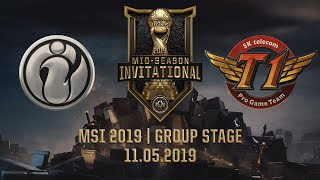 IG vs SKT [MSI 2019][11.05.2019][Group Stage]