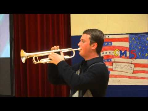 Jeffrey Doll - TAPS - Clark Moores Middle School, 11/12/2015