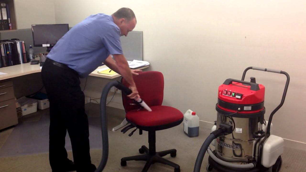 Kerrick Shampoo Machine Cleaning Upholstery