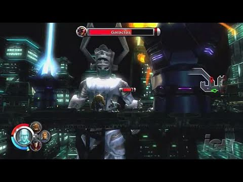 Marvel: Ultimate Alliance Xbox 360 Gameplay - Galactus