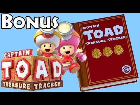 Captain Toad: Treasure Tracker - Bonus Complete (100% all gems/bonus objectives/secret goals)