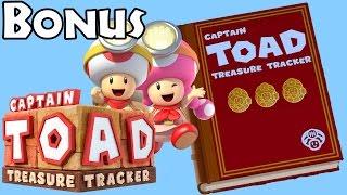 Captain Toad: Treasure Tracker - Bonus All Levels (All Gems/Bonus Objectives)
