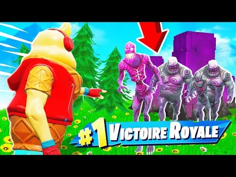 Faire un TOP 1 Grace aux ZOMBIES sur FORTNITE Battle Royale !