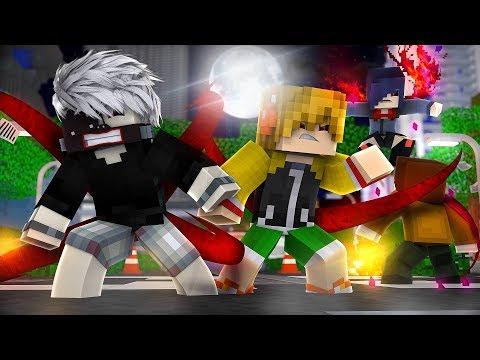 Minecraft TOKYO GHOUL X - NOVOS GHOULS UMA NOVA SÉRIE #1 ‹ Sky ›