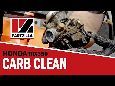 Honda ATV Carburetor Cleaning | Honda TRX350 | Partzilla.com