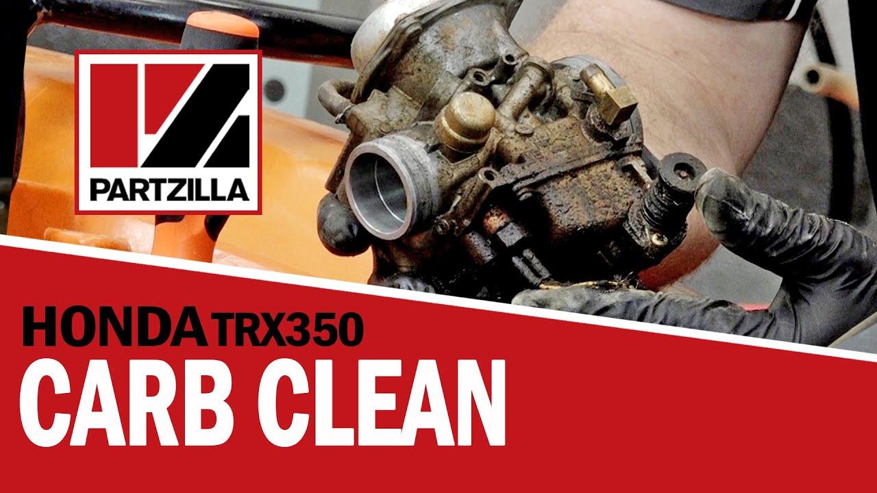 Honda Atv Carburetor Cleaning Trx350 Partzillacom Youtube 1986 Fourtrax 350 Wiring Diagram