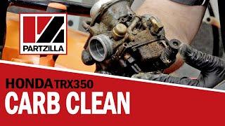 Honda ATV Carburetor Cleaning | Honda TRX350 | Partzilla.com