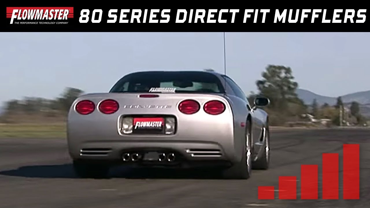 2004 Corvette C5 With Flowmaster 80 Series Direct Fit Lers 525802 L And R
