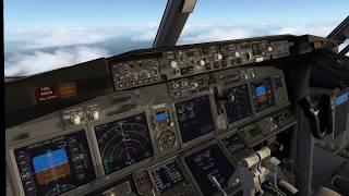[X-Plane 11 VR] Zibo 737-800 Flight from Munich (EDDM) to Stuttgart (EDDS) - [German]