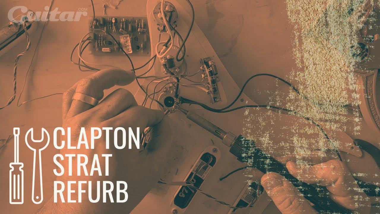 DIY Workshop: Rebuilding Chris Buck's Fender Eric Clapton Stratocaster | Guitar.com