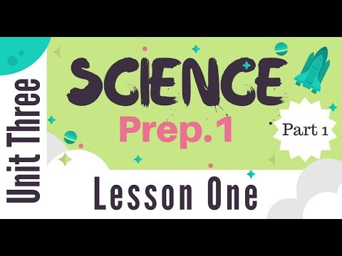 Prep 1 | Unit 3 - Lesson 1 - Part 1 - Diversity of living or