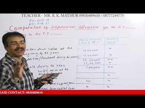 Depreciation Under Income Tax Act | Depreciation Under Section 32 Of Income Tax Act