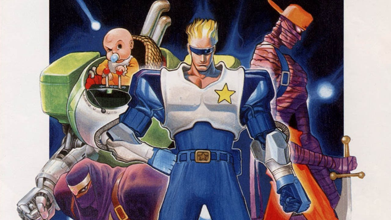 Captain Commando OPENBOR TO PS4