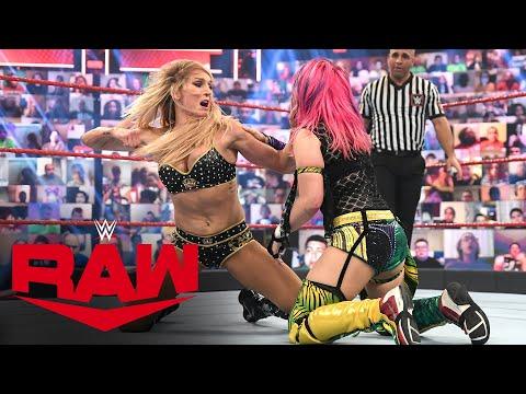 Asuka vs. Charlotte Flair: Raw, April 19, 2021