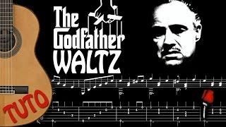 TUTO FINGERSTYLE GUITARE - GODFATHER WALTZ FREE SCORE