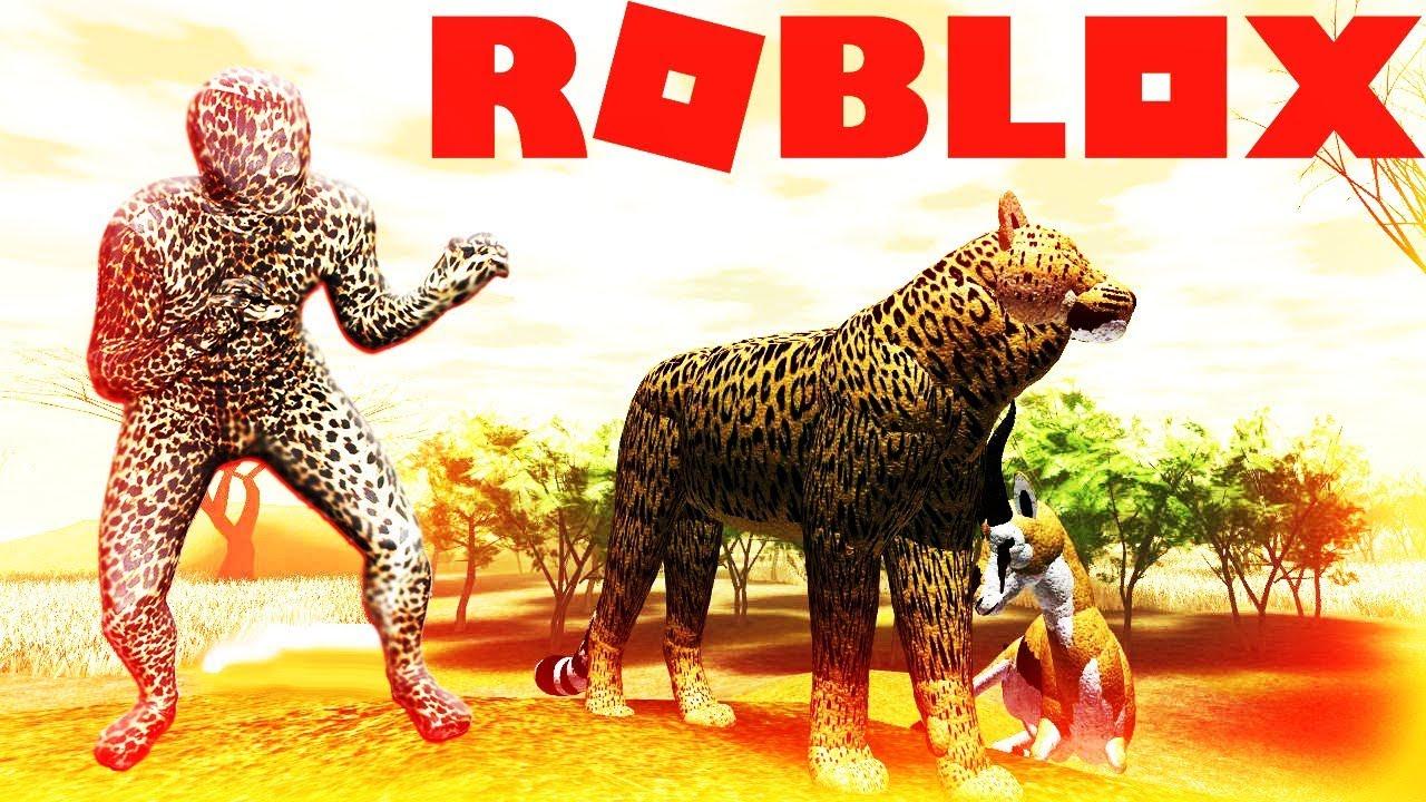 SNEAKING LEOPARD WILD SAVANNAH ROBLOX Animal Survival