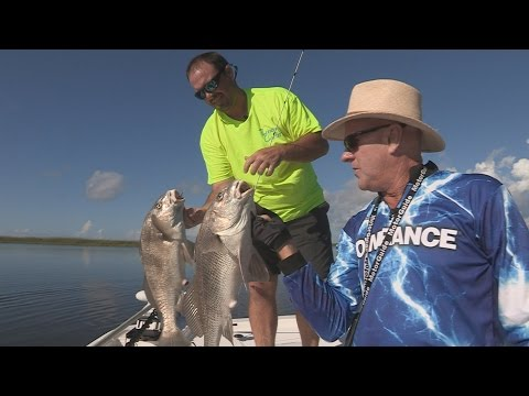 FOX Sports Outdoors SouthWEST #24 -2016 Lake Pontchartrain, Louisiana Black Drum Fishing