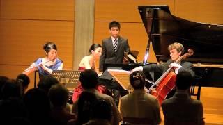 Reflets pour flûte, violoncelle et piano