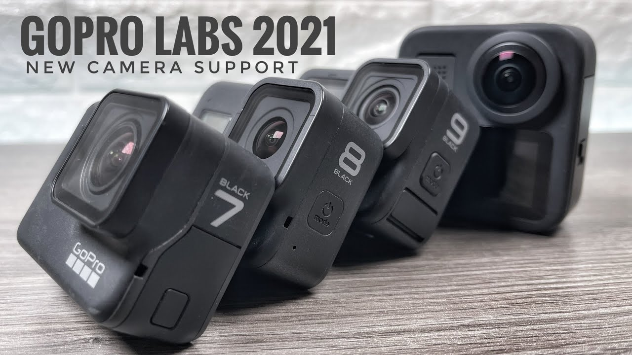 GoPro Labs 2021 Edition | Hero 9 Black, GoPro Max Support