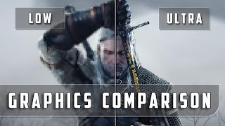 The Witcher 3: Wild Hunt – PC Low vs Ultra Graphics Comparison
