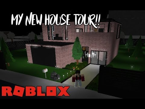 Welcome To Bloxburg: My New Aesthetic House Tour!! | AngelYT