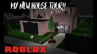 Welcome To Bloxburg: My New Aesthetic House Tour!!   AngelYT