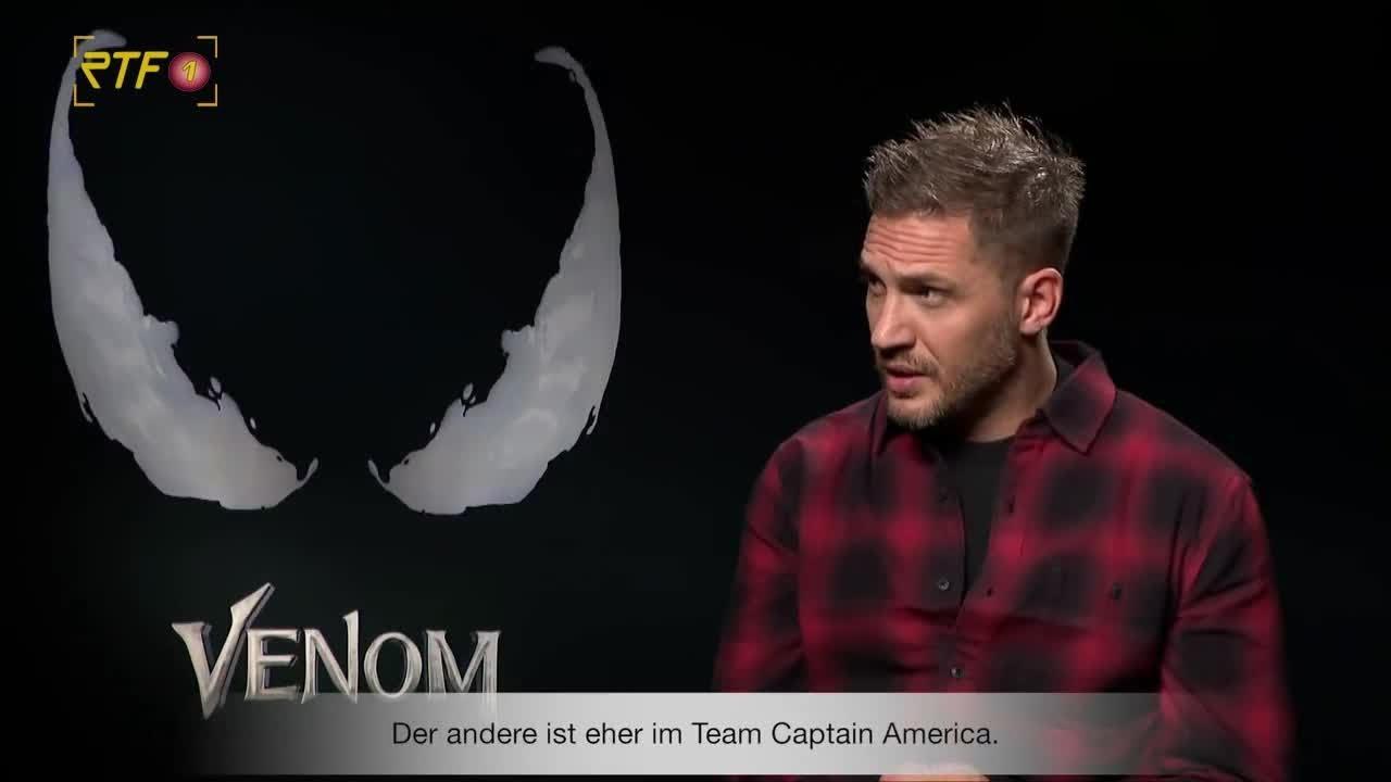 Venom: Interview mit Tom Hardy   RTF.1 Cinenews - YouTube