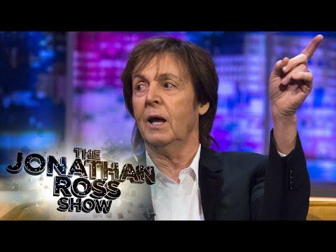 Paul McCartney Talks About John Lennon - The Jonathan Ross Show