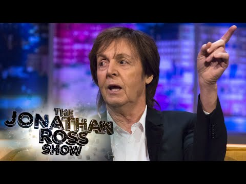 Paul McCartney Talks About John Lennon - The Jonathan Ross Show
