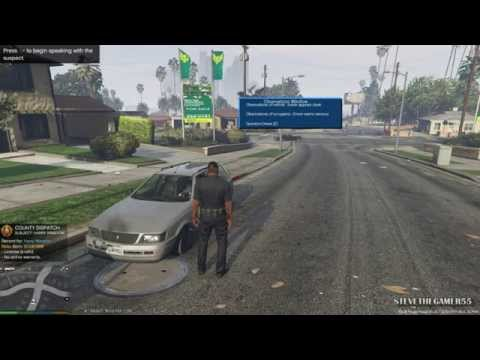 GTA 5 PC MODS - LSPDFR - POLICE SIMULATOR - EP 6 (NO COMMENTARY) K9 JERRY LEE