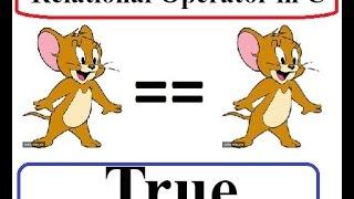 Relational Operator in C language